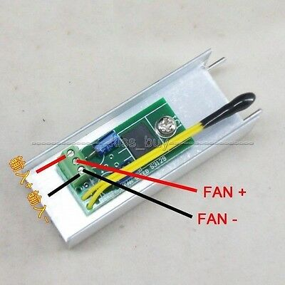NEW 12V 1A Automatic PC CPU Fan Temperature Control Speed Controller Thermostat