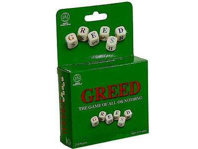 GREED TRAVEL VERSION Family Board Dice Game Birthday Christmas Gift Present