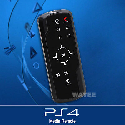 Bluetooth 3.0 Wireless Media Bluray DVD Remote Control Controller for Sony Ps4