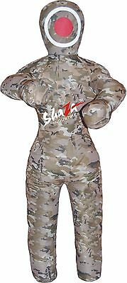 "Brazilian Grappling Dummy Wrestling  bag 48"" (4 feet)Canvas Camouflague"
