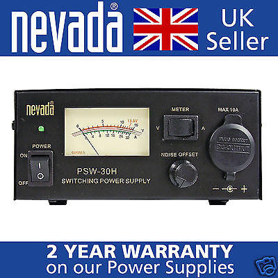 Nevada PS-30M NEW 25//30 Amp Linear Power Supply