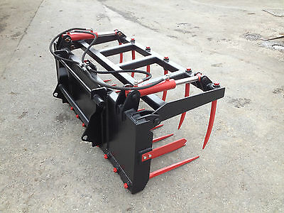 New  Silage/Manure Fork And Grapple - 60 Inch Wide