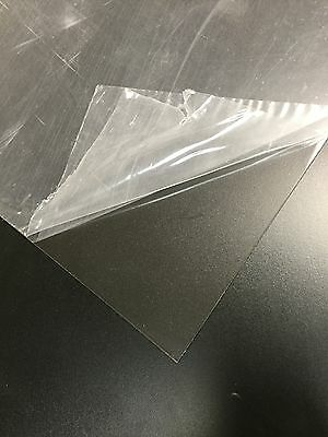 """Clear PETG plastic sheets .020"""" x 24"""" x 48"""" Polyester Sheet RC Hobby"""