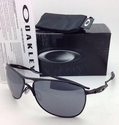 db49e7c7f5 New OAKLEY Sunglasses CROSSHAIR OO4060-03 61-15 Matte Black w Black Iridium