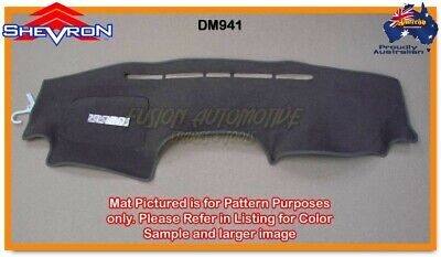 Black Dashmat for TOYOTA Rav 4 ACA 22-23 2/2004-10/2005 Dash Mat DM941