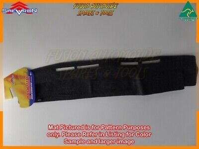 Black Dashmat for FORD Econovan E SWB 1/1984-10/1996 Dash Mat DM41