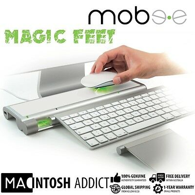 Mobee Magic Feet Induction Charging Station for Apple Mouse Keyboard & TrackPad