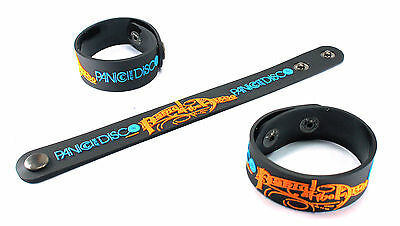PANIC! AT THE DISCO  Rubber Bracelet WristbandToo Weird to Live vr138