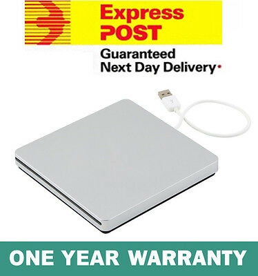 USB External Slot In DVD RW CD Drive Burner Superdrive For Apple MacBook Air Pro