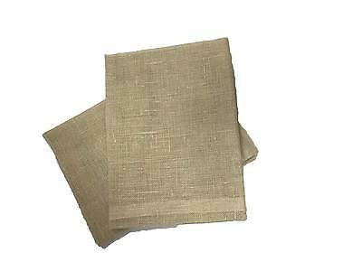 Window Cleaning Natural Linen Scrim Cloth 68 x 68 cm / Cloth Pack of 2 / 3 / 25