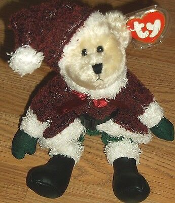 Ty-Attic Treasures Collection-Santabear--New!