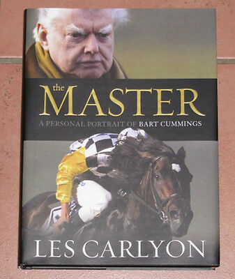 Bart Cummings 'The Master' Hand Signed Autobiography Book