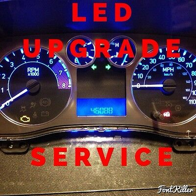 gm instrument cluster led conversion