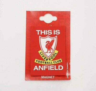 Liverpool Official Fridge Magnet - This Is Anfield - Great Gift Idea