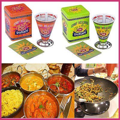Cooks Dry INDIAN CURRY Food Measure Thali Expert Retro Vintage  Easy Recipe TALA