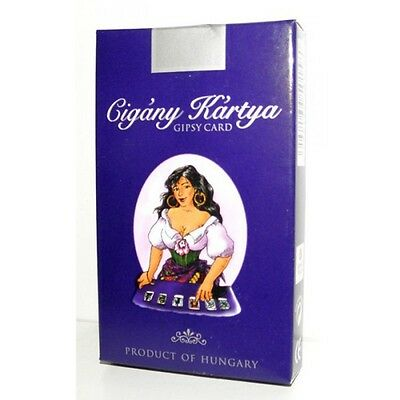 SEALED DECK of 36 GYPSY TAROT cards on 6 LANGUAGES /FREE SHIPPING/