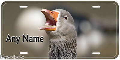 Goose Any Name Novelty Car License Plate