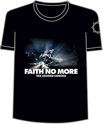 Faith No More The Second Coming Classic Logo T-Shirt Black Small Rock & Roll New