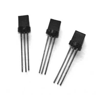 2N2923 TRANSISTOR TO-92 OLD STYLE - Lot of 3