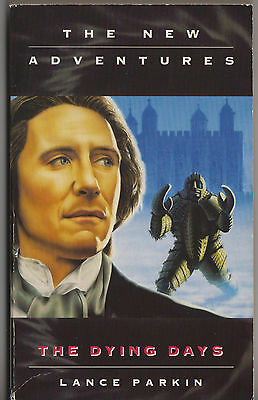 V rare: The Dying Days by Lance Parkin. NDWA, Dr Doctor Who.