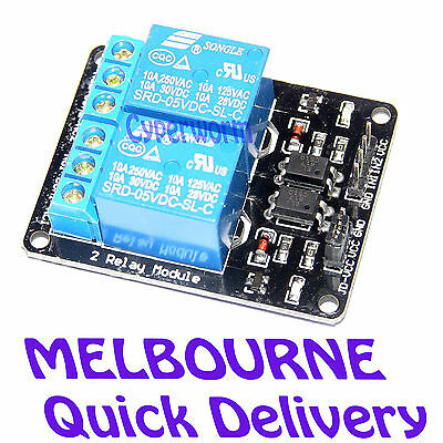 2 channel relay module optocoupler 2 way for Arduino ARM PIC AVR DSP 5V