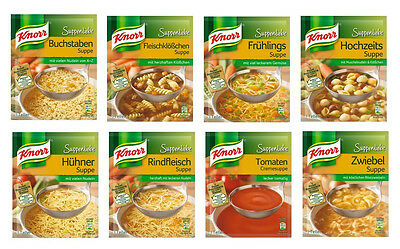 Knorr soups - six (6) bags for you choice - original german brand