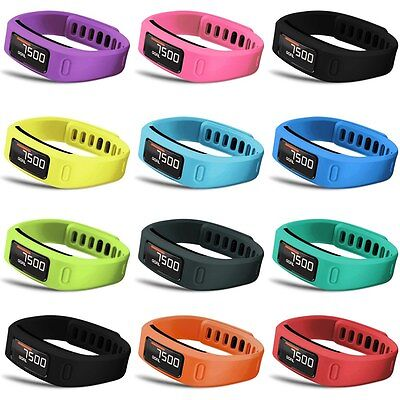 Large/Small Replacement Wristband Band w/ Clasp FOR Garmin Vivofit Bracelet / 2
