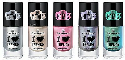 ESSENCE i ♥ trends nail polish the metals +Farbwahl+ NEU&OVP