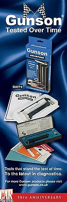 GUNSON COLORTUNE 14MM plug MOST COMMON BEST SPARK PLUG MIXTURE TESTER TOOLKIT
