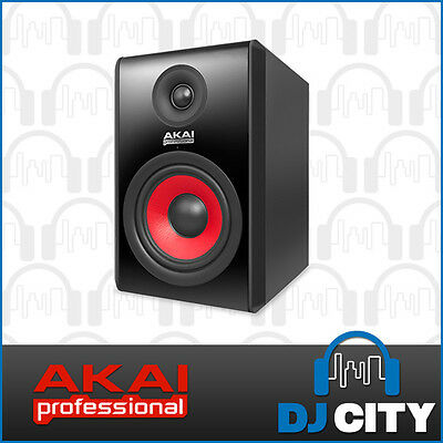 "Akai RPM500 Studio Monitor 90w 5"" Inch Active Powered Studio Speaker RPM-500"