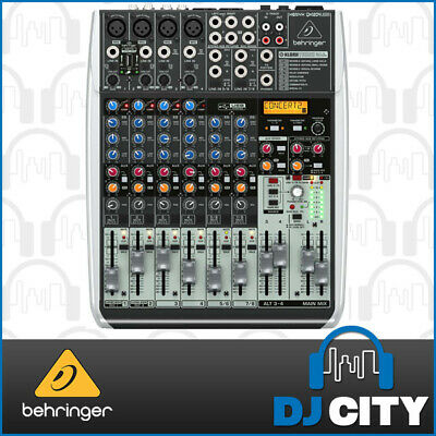 Behringer Xenyx QX1204USB 12 Channel PA Mixer with USB and Digital FX - 3 YEA...