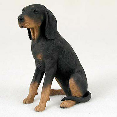Coonhound Hand Painted Collectible Dog Figurine