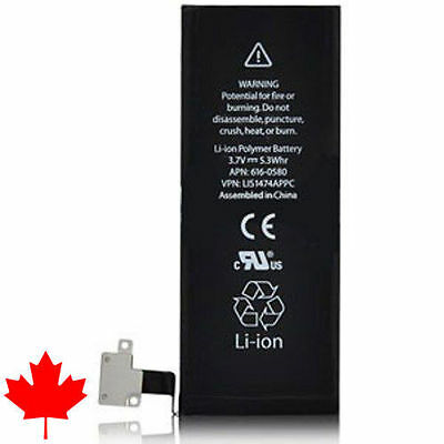 NEW iPhone 4S Replacement Battery APN 616-0582 1430mAh