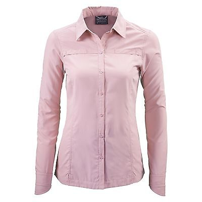 Kathmandu Tapah Women Long Sleeve Hiking Shirt Wrinkle Resistant Quickdry v2 New