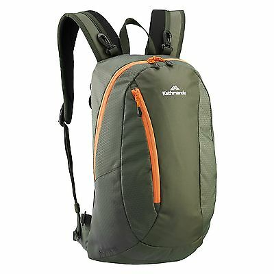 Kathmandu Gluon Beyond Travel Active Pack Backpack Rucksack Bag 18L v3 Green