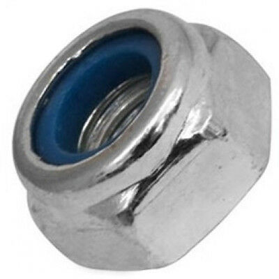 Qty 20  Hex Nyloc Nut M3 (3mm) Marine Grade Stainless Steel SS 316 A4 70 Lock