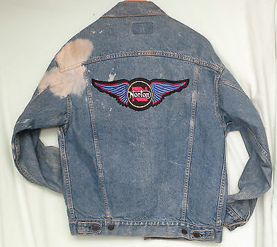 Vintage Norton Motorcycle Jacket - Levi Strauss Men's Sm, Lady's Medium  NEW