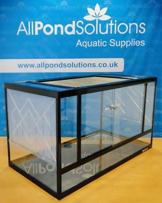 Glass Terrarium / Vivarium Tank Fully Assembled Komodo Dragon Snake Gecko