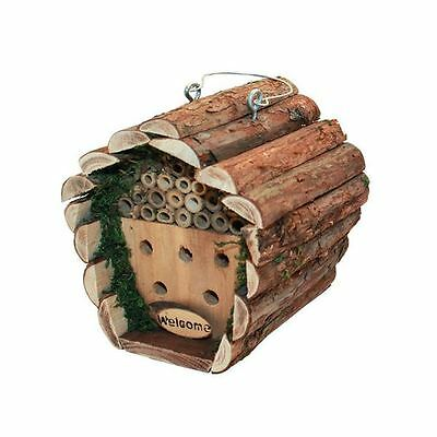 Kingfisher Wooden Insect Hotel House Box Garden Bee Bug Nest HOTEL2