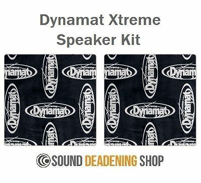Dynamat Xtreme Extreme Speaker Kit Car Black Sound Deadening Proofing DYN10415