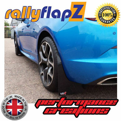rallyflapZ to fit VAUXHALL ASTRA GTC VXR (2012+)Mudflaps Mud Flaps Black 4mm PVC