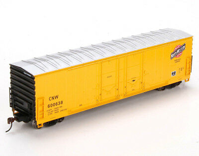 Athearn HO Scale 50' Evans Double Door Box Car Chicago North Western/CNW #600638