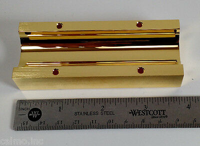ND-YAG Gold Plated Laser Pump Cavity Relector Brass Substrate