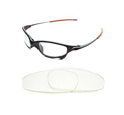 New Replacement Transparent Clear Lens For Oakley Juliet Sunglasses