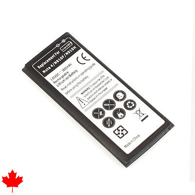 NEW Samsung Galaxy NOTE 4 IV Replacement Battery EB-BN910BBK 3220mAh Canada