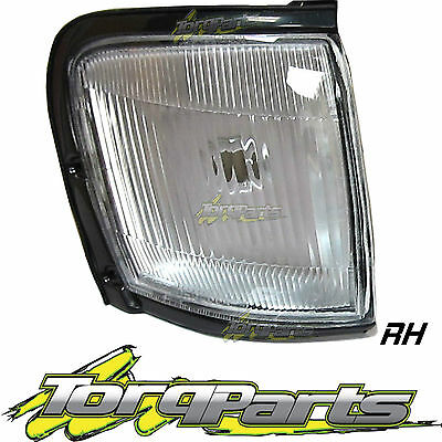 Indicator Rh Suit Tf Rodeo Holden Clear W/black Trim Flasher Blinker Repeater