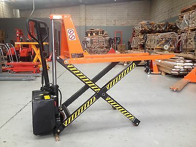 Brand New Electric High Lift 800mm Pallet Truck Capacity 1.5T, Fork Width 680mm