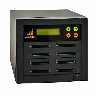 evocept 8 slot 7 target CompactFlash CF Copier Duplicator Tower