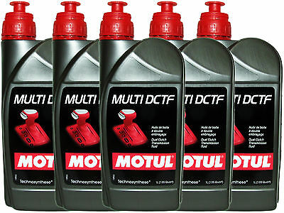 (5L=5.28 Qt) Motul Multi Dctf Dual Clutch Transmission Dct Fluid Oil Lubricants