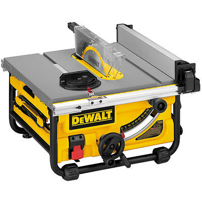 "DeWalt DW745-XE 1850W 254mm (10"") Heavy Duty Lightweight Table Saw"